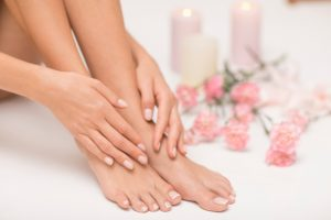 きれいな手と足